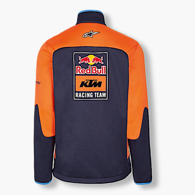 Official Teamline Softshell Jacket (KTM17001): Red Bull KTM Racing Team official-teamline-softshell-jacket (image/jpeg)