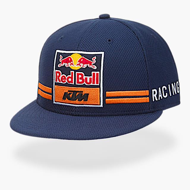 New Era 9Fifty Red Bull KTM Flat Cap (KTM17006): Red Bull KTM Racing Team new-era-9fifty-red-bull-ktm-flat-cap (image/jpeg)