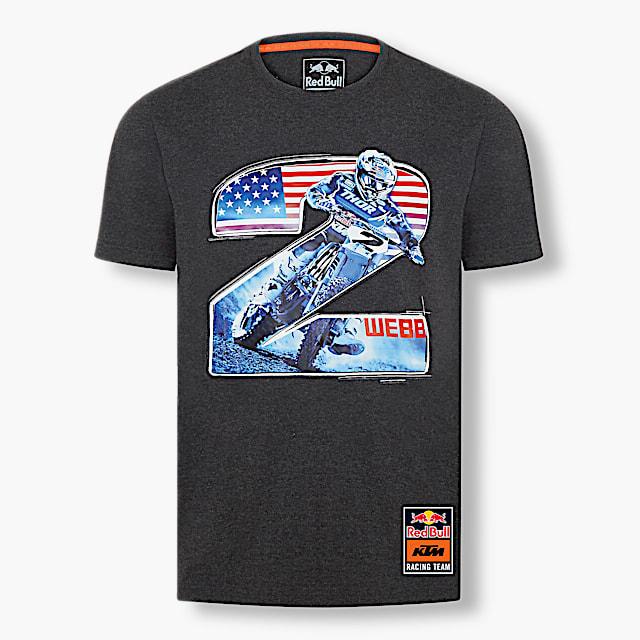 Cooper Webb Rider T-Shirt (KTM20011): Red Bull KTM Racing Team cooper-webb-rider-t-shirt (image/jpeg)