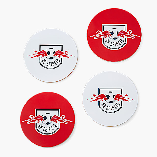 RBL Coaster Set of 4 (RBL20090): RB Leipzig rbl-coaster-set-of-4 (image/jpeg)