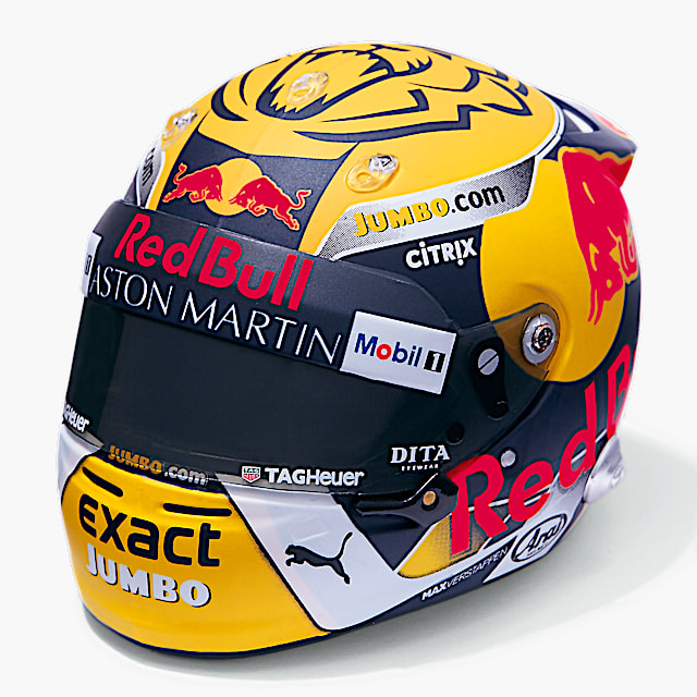 Minimax Max Verstappen Austrian GP 1:5 Mini Helmet (RBR19159): Red Bull Racing minimax-max-verstappen-austrian-gp-1-5-mini-helmet (image/jpeg)