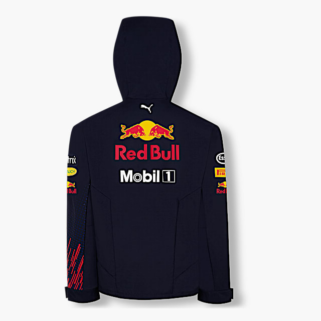 Official Teamline Rain Jacket (RBR21001): Red Bull Racing official-teamline-rain-jacket (image/jpeg)