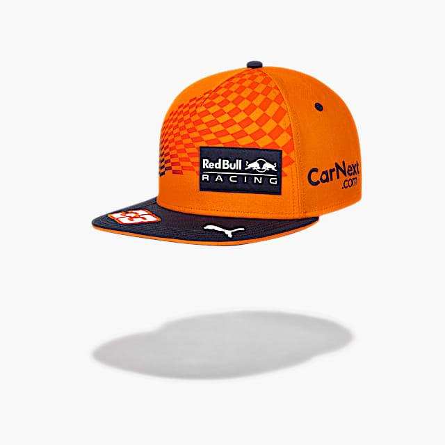 Max Verstappen Orange Flat Cap (RBR21046): Red Bull Racing max-verstappen-orange-flat-cap (image/jpeg)