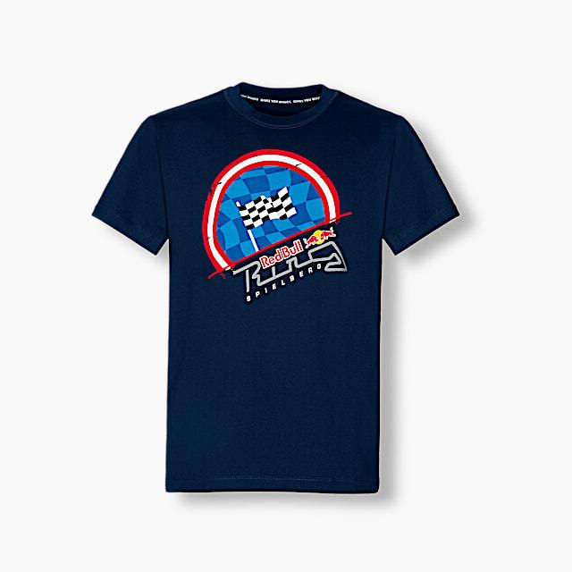 Chequered Flag T-Shirt (RRI17012): Red Bull Ring - Project Spielberg chequered-flag-t-shirt (image/jpeg)