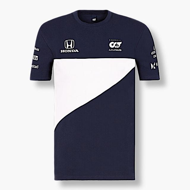 Official Teamline T-Shirt (SAT21031): Scuderia AlphaTauri official-teamline-t-shirt (image/jpeg)