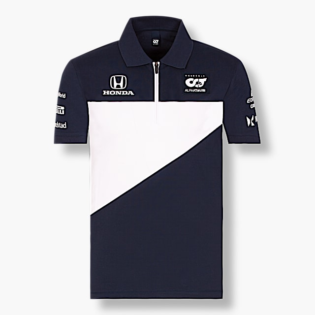 Official Teamline Polo Shirt (SAT21035): Scuderia AlphaTauri official-teamline-polo-shirt (image/jpeg)