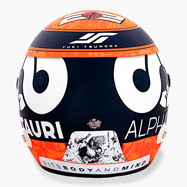 Yuki Tsunoda 2021 1:2 Mini Helm (SAT21206): Scuderia AlphaTauri yuki-tsunoda-2021-1-2-mini-helm (image/jpeg)