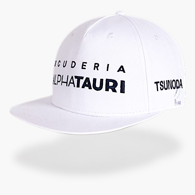 Yuki Tsunoda Driver Cap (SAT21273): Scuderia AlphaTauri yuki-tsunoda-driver-cap (image/jpeg)