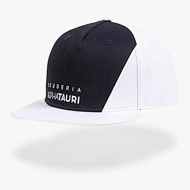 Official Teamline Flat Cap (SAT21291): Scuderia AlphaTauri official-teamline-flat-cap (image/jpeg)